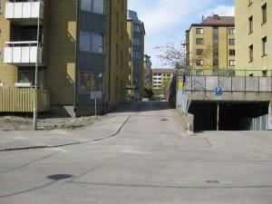 Albotorget sedd från Carl Grimbergsgatan 2014