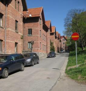 Muraregatan mot Spekebergsgatan 2014