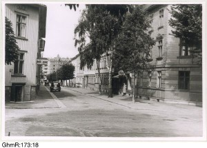 Rygatan sedd fr.Carl Grimbergsgatan